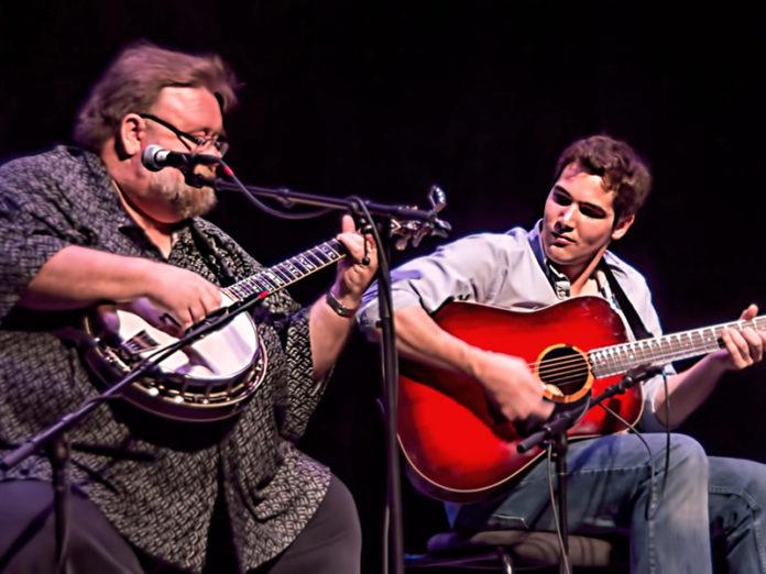 Dennis and Zach Caplinger at Diamond Valley Arts Center