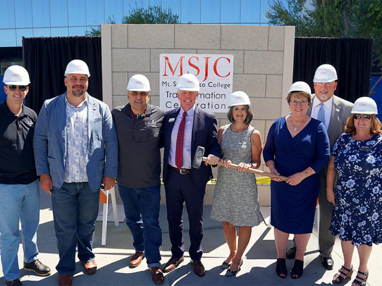 City officials celebrate renovation efforts starting at the Temecula Valley Campus