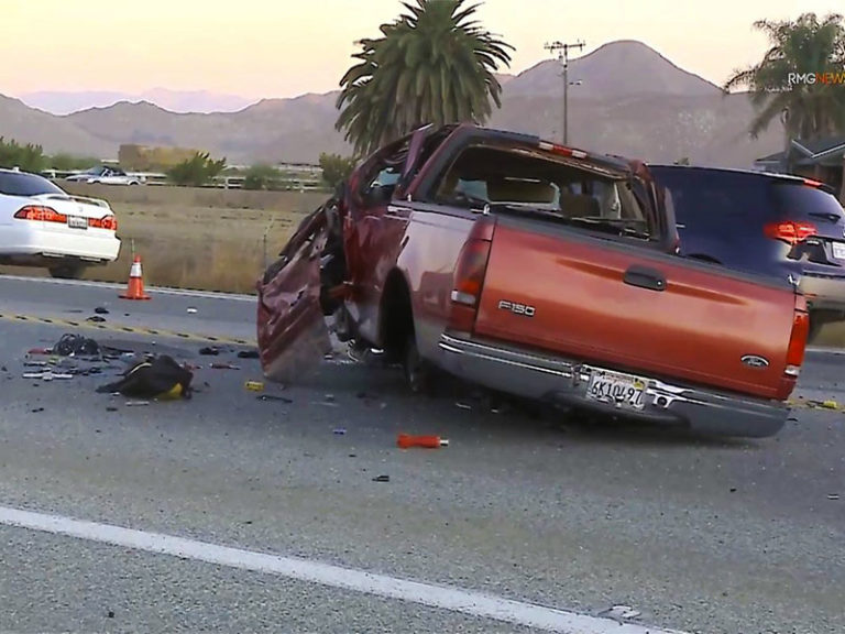 Moreno Valley Man, 43, ID'D, after fatal head-on crash