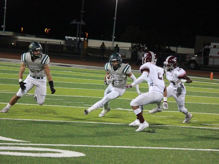 Titans Hold Off Mustangs Attempt At A Comeback Victory