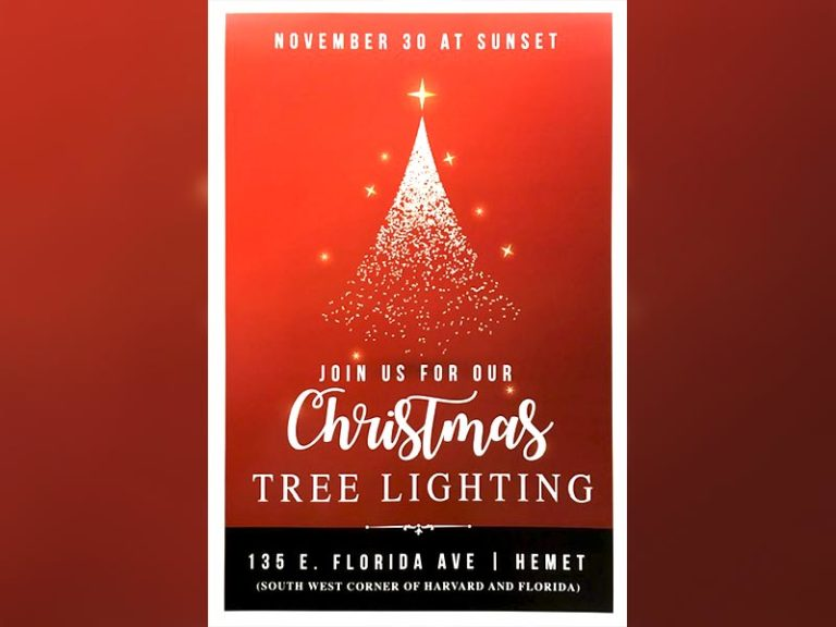 Matt McPherson and The Farmers Market donate a 17-foot Christmas Tree to kick off the Christmas Season