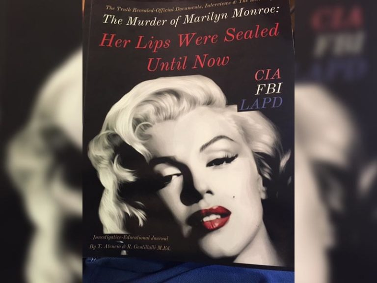 """Review of the book """"The murder of Marilyn Monroe: Her lips were sealed until now""""  by T. Atencio and R. Gentillalli"""