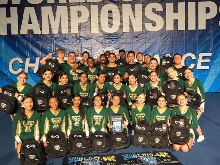 Tahquitz Titan's Co-Ed Cheer Team