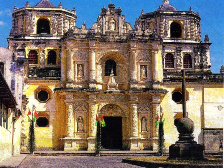 The Historic Old Spanish Capital of Antigua, Guatemala