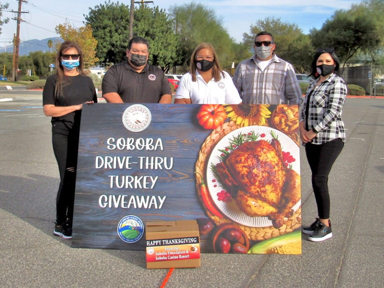SOBOBA HELPS LOCAL FAMILIES WITH TURKEY GIVEAWAY