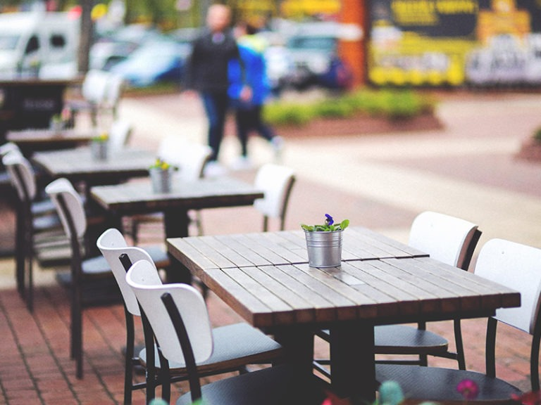 Back to purple tier: Local restaurant owners and diners shifting back to outdoor dining