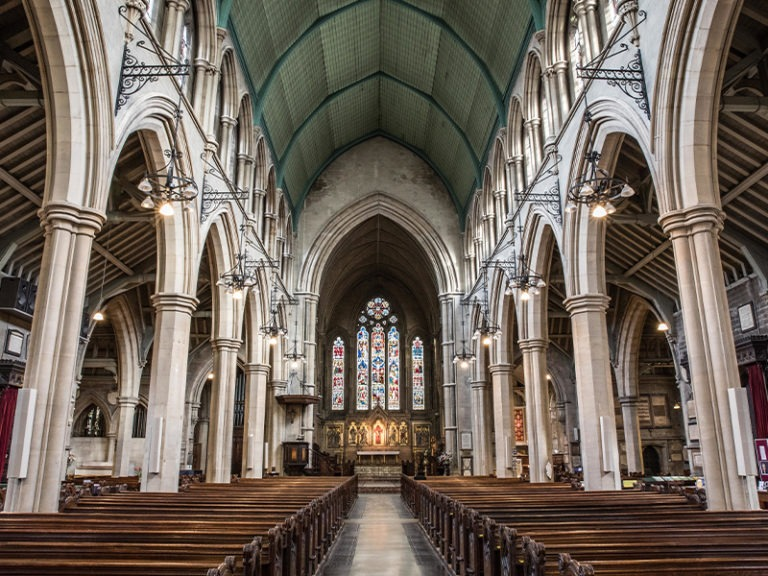 Sitting on billions, Catholic dioceses amassed taxpayer aid