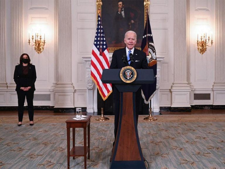 Biden defends departure from 'forever war,' praises airlift