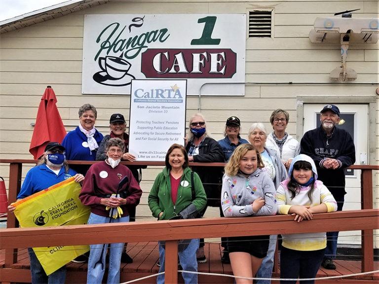 CalRTA Members Clean Up