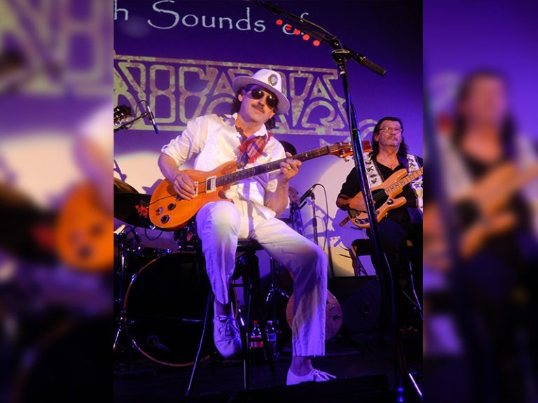 TRIBUTE TO SANTANA RETURNS TO HHT BY POPULAR DEMAND