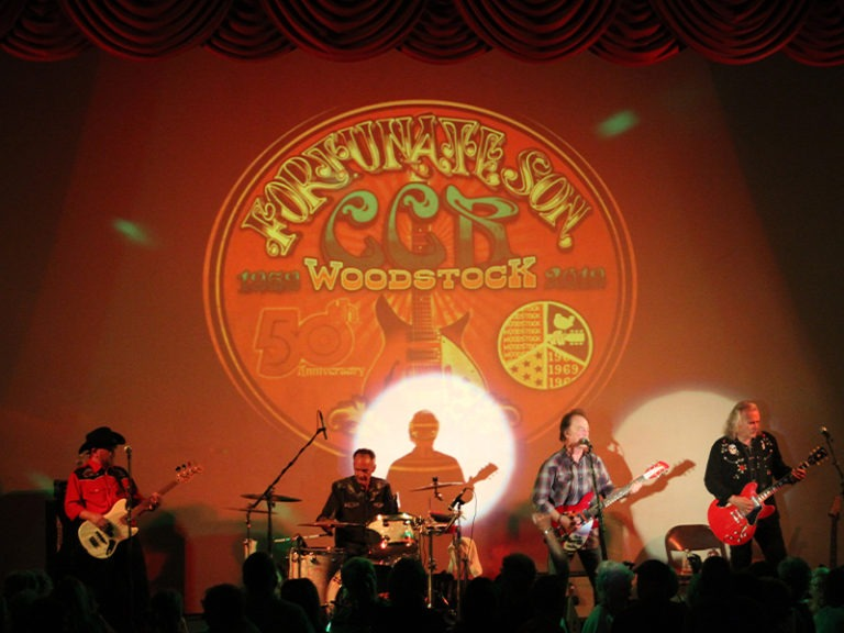 Tribute to CCR Heats Up The Night at HHT