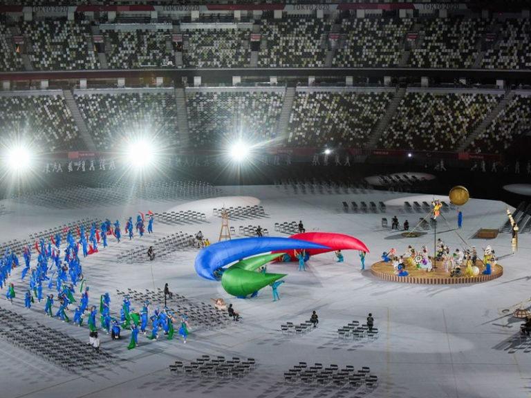 Paralympics open in empty stadium — just like Olympics
