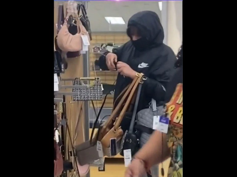 Multiple People Caught on Camera Shoplifting From Marshalls Store in Hemet