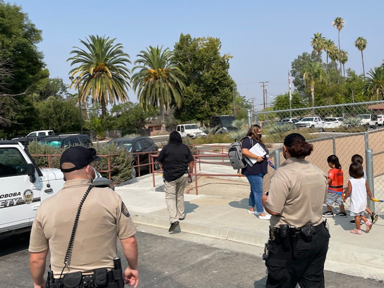 SOBOBA STUDENTS LEARN ABOUT SAFETY