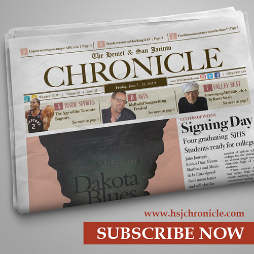 Subscribe to The Hemet & San Jacinto Chronicle