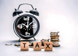 Taxes & clock