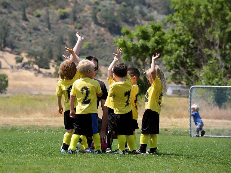 Involve your kids in sports