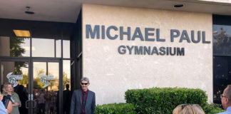 Renaming the Gymnasium after him