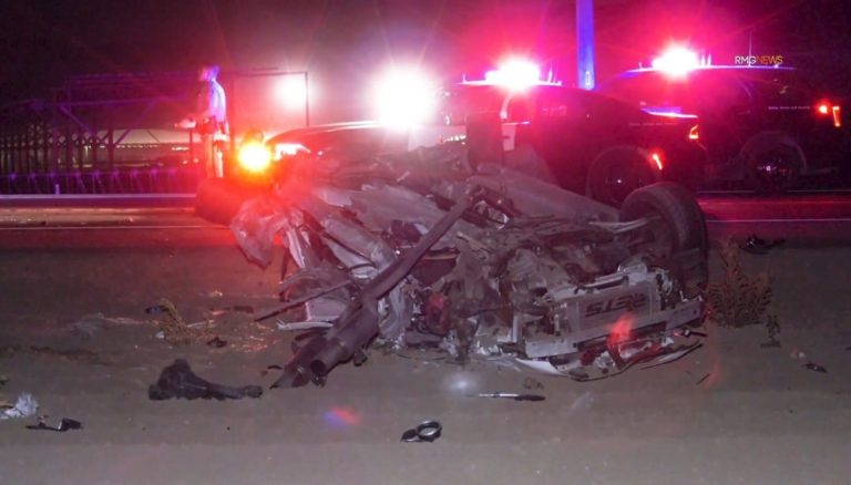 Ramona Expressway claimed two lives after a 2-car wreck