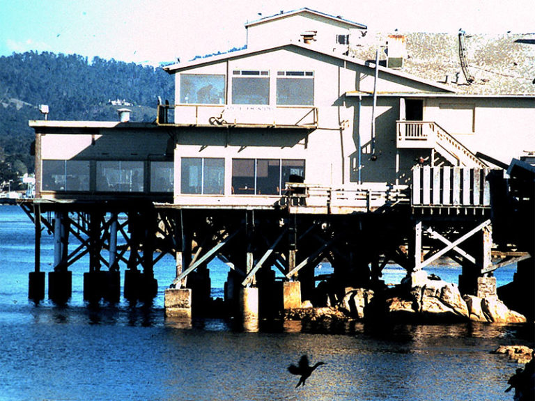Monterey Bay, and its Cannery Row, California