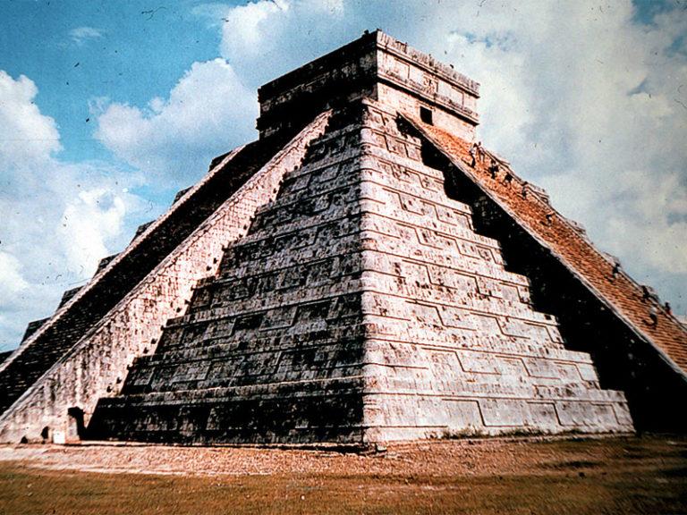 CHICHEN ITZA, IN THE YUCATAN PENINSULA OF MEXICO