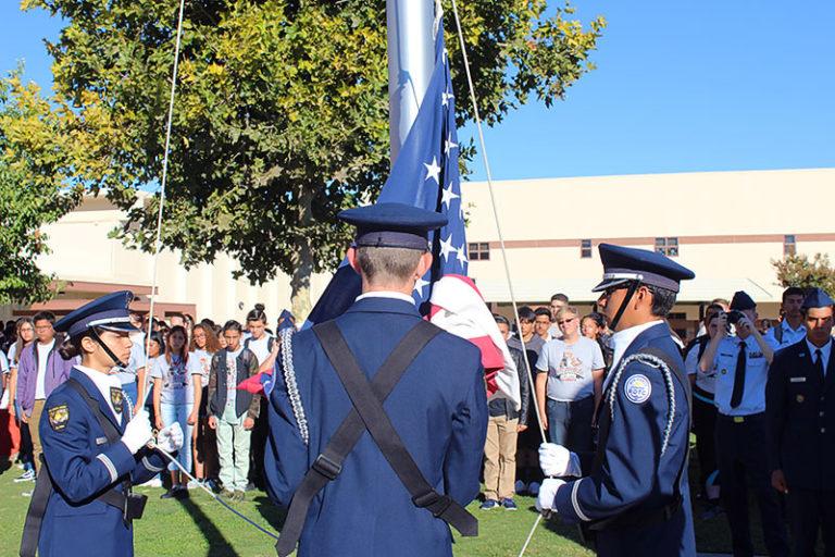 San Jacinto High School's Annual Patriot Day Ceremony on September 11