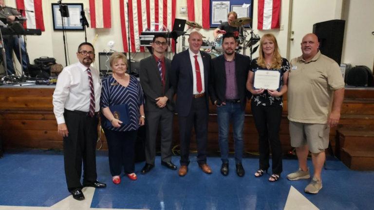 American Legion Post 53 acknowledges Hemet Homeless Outreach Team