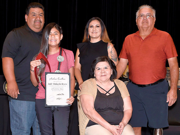 Soboba students honored