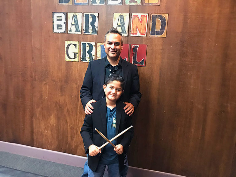 """Nine-year-old phenom shines on drums in """"The Band Sebastian"""""""