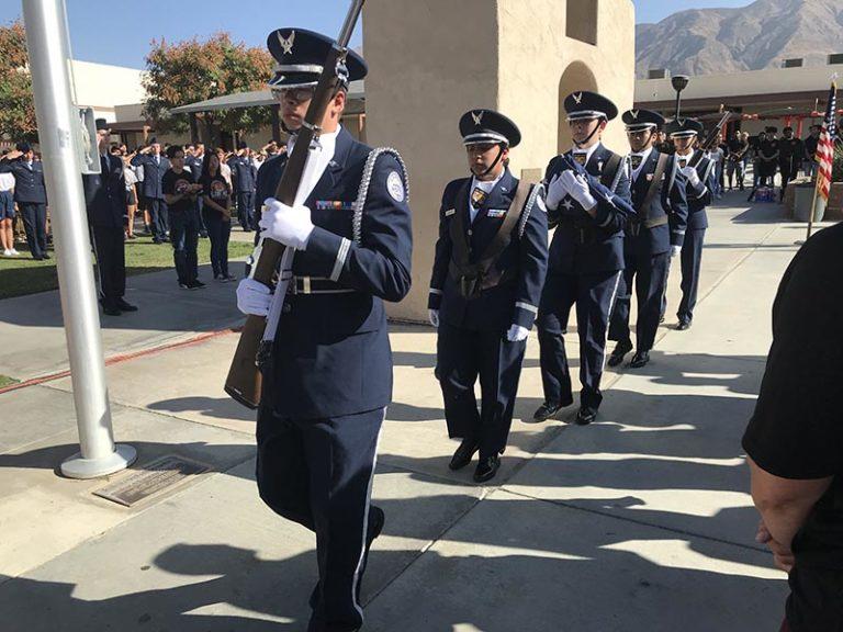 San Jacinto School District Remembers 9/11