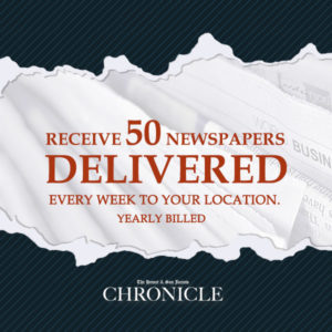 Distribute the paper 50 pcs. yearly - The Hemet & San Jacinto Chronicle