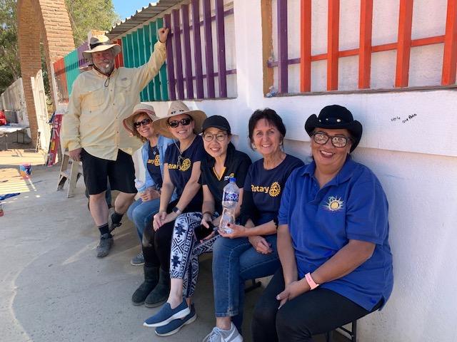 Hemet Sunset Rotary participates in International Project