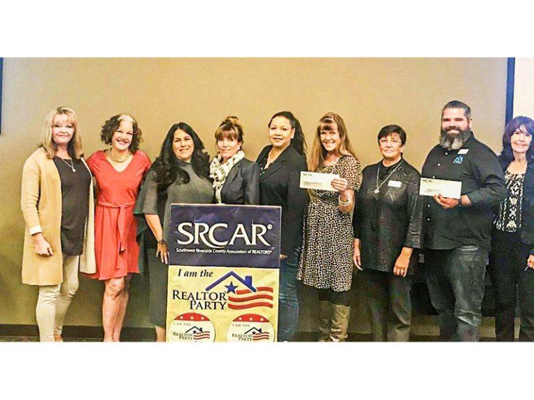 SRCAR Realtors & Affiliates Raised Over $32,000 For Three Local Charities