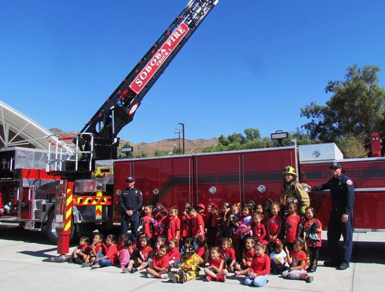 SOBOBA KIDS LEARN ABOUT FIRE SAFETY