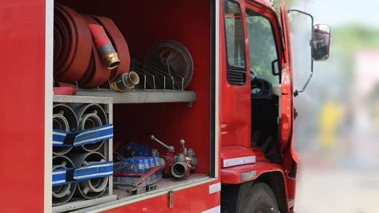 Police: California inmate's wild ride wrecked firetruck