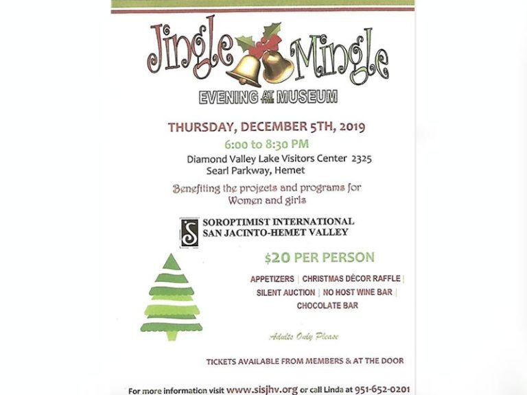 Jingle? Mingle? Why not do both!