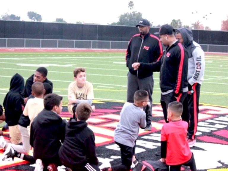 Pro Way Hosts Free Football Skills Camp at Mount San Jacinto Jr. College