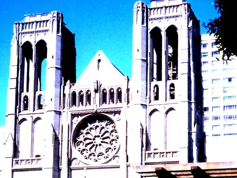 The Murals and Stained-Glass Windows of Grace Cathedral, San Francisco