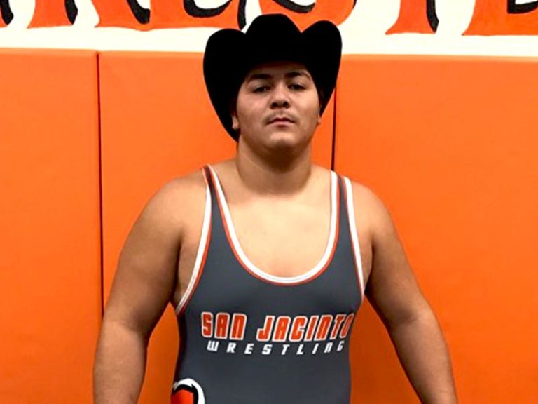 San Jacinto Wrestler Goes Back 2 Back