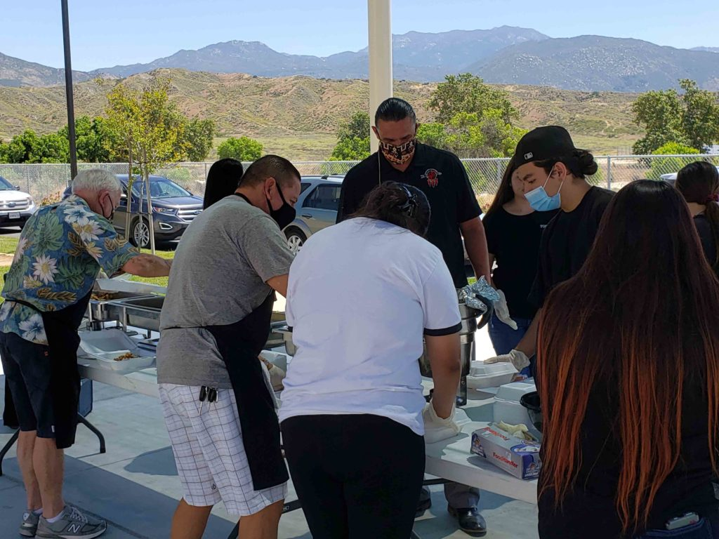 The Soboba Band of Luiseño Indians Youth Council wanted to be sure that military veterans buried at the Soboba Cemetery were properly honored for their service to America by hosting a Memorial Day Ceremony on May 25.