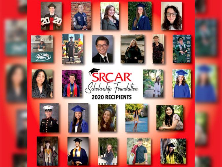SRCAR® Scholarship Foundation Awards 25 Scholarships to Local High School Seniors, Class of 2020