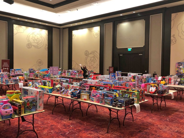 SOBOBA KICKS OFF ANNUAL TOY DRIVE