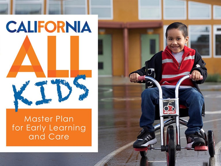 Governor Newsom Releases the Master Plan for Early Learning and Care: California for All Kids