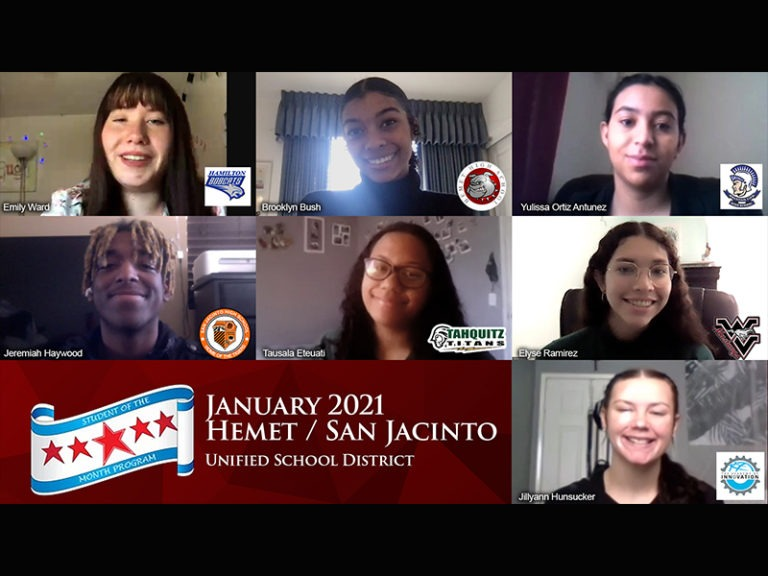 San Jacinto Valley Students Honored
