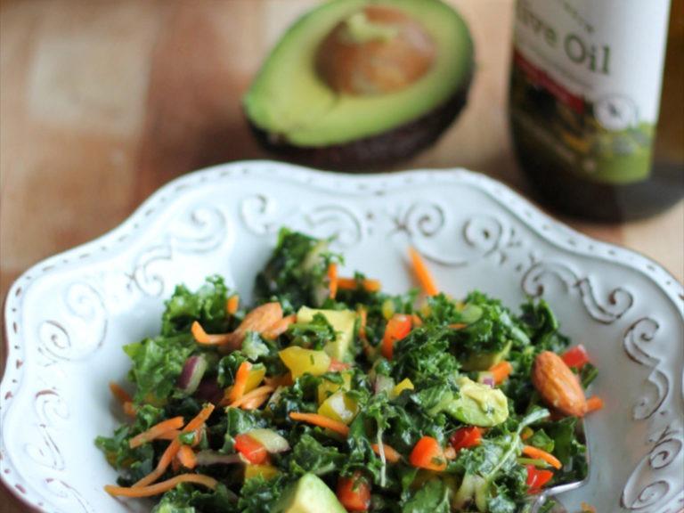 Immune-Boosting Salad & Dressing Recipe
