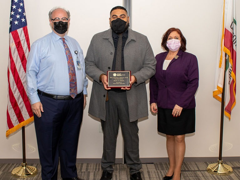 Riverside County Official Receives National Honorable Mention Award