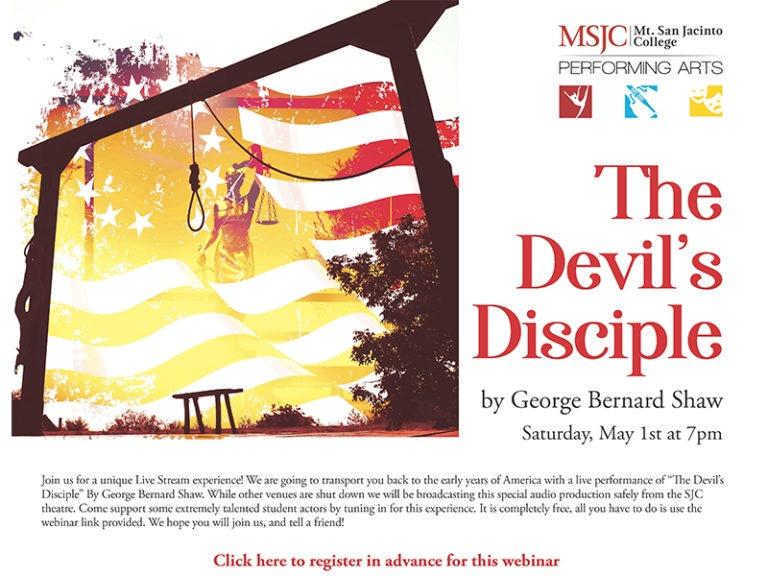 MSJC Theatre Hosts Live Performance of 'Devil's Disciple'