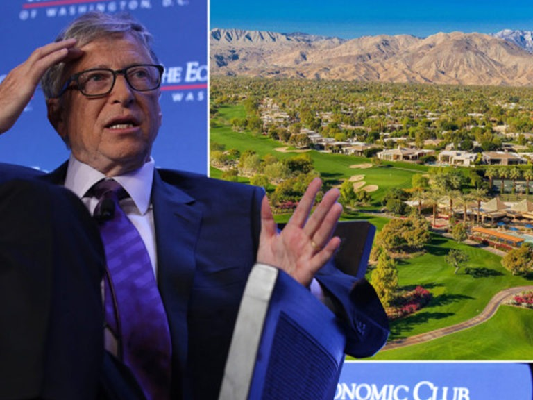 Bill Gates hiding out at luxe billionaires' golf club in California