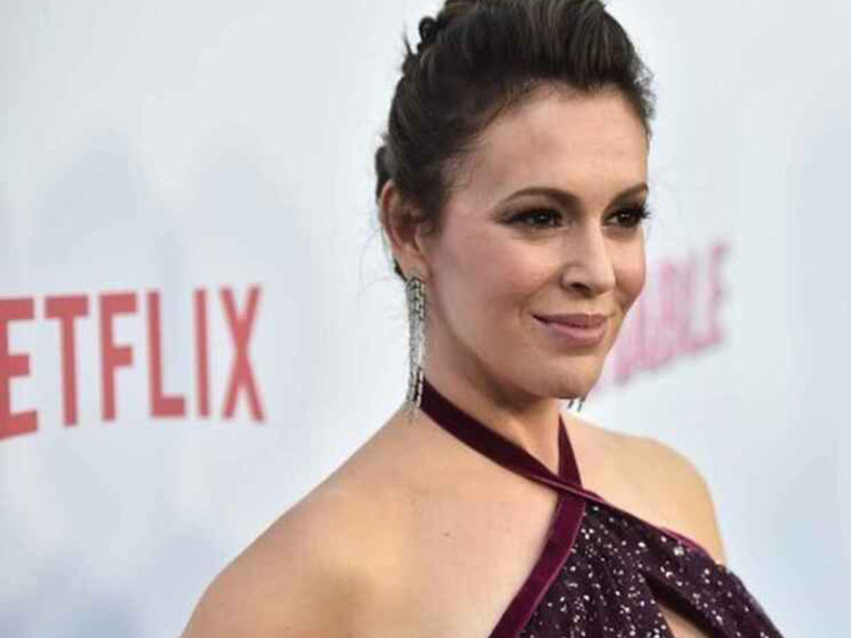 Actress Alyssa Milano is interested in a congressional seat in California