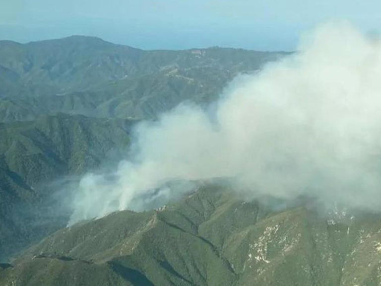 Brush fires erupt in California, forcing evacuations